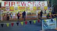 Gavins Fireworks Booth