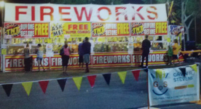 GRSF Fireworks Booth July 1-4